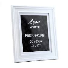 lyon white photo frame 8 x 10 tap to expand