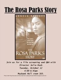 the rosa parks story rdquo screening today the jubilee project rosaparksflyer4 1 1