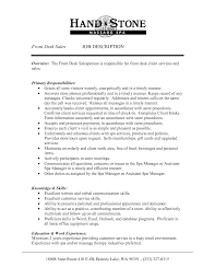 front office resume format of office manager - Hotel Front Desk Manager Job  Description