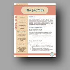 149 Best Modern Cv Template Images On Pinterest Resume Templates