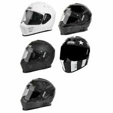 Details About Simpson Ghost Bandit Helmet Motorcycle Helmet Dot Approved All Sizes Colors