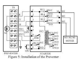 installation of single phasing preventer circuit