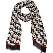 vera bradley soft fringe scarf scottie dogs