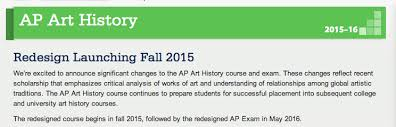 ahtr reports on ap art history  part ii    art history teaching    screen shot      at      pm