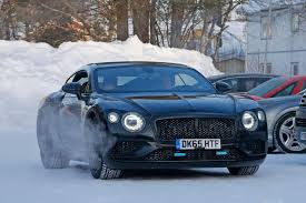2018 bentley release date. modren 2018 allnew 2018 bentley continental gt spied hours before world debut for bentley release date