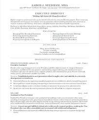 Personal Assistant Job Description Template Resume