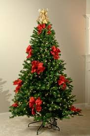 christmas trees decorated with red ribbon. Fine Ribbon Christmas Tree Decorations With Red Ribbons  Photo7 For Trees Decorated With Red Ribbon O