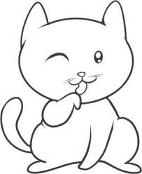 cat drawing step by step. Contemporary Cat Now You Have An Awesome Drawing On A Cat That Is As Cute Can Be I Hope  Had Fun And Be Sure To Try Out The Other Tutorials For Kids And Cat Drawing Step By C