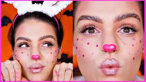 cute bunny makeup tutorial you