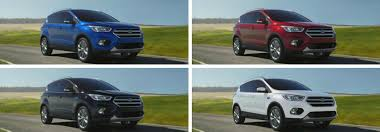 2018 Ford Escape Colors Chart Related Keywords Suggestions