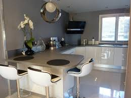 Idée Déco Bureau Elegant Deco Salon Cuisine Ouverte 24 Idee Moderne