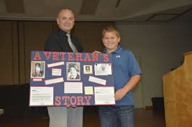 area students honor veterans through essays posters news  110915 essay and poster contest pic 1