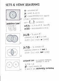 Venn Diagram A U B Ib Math Stu S Probability Worksheets New Ib Math Stu S Probability