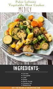 paleo leftover vegetable slow cooker