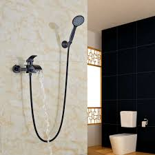 oil rubbed bronze shower head with handheld spray unique aliexpress oil rubbed bronze bathtub faucet