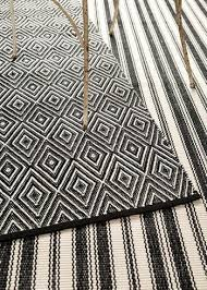 wonderful black and white striped outdoor rug cabana stripe rugs turquoise i pier 1