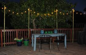 diy decorative outdoor patio lights home landscapings clips hang string ways to how on stucco balcony deck trees pergola without gutters siding poles