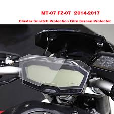 New For Yamaha MT 07 FZ 07 MT07 <b>Cluster Scratch Protection Film</b> ...