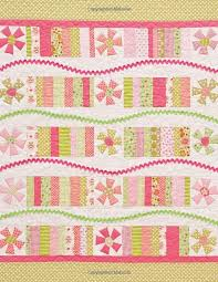 Fun House Baby  quilt pattern from  Colorful Stash Busters  book ... &