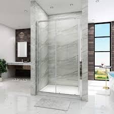 bathroom slidingdoor shower enclosure