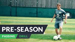pre season for football ping drills