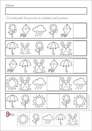 Spring Worksheet For Kindergarten - Checks Worksheet