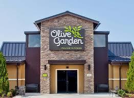olive garden exterior of restaurant