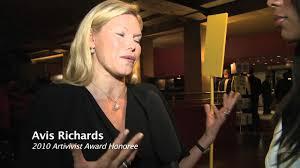 Interview with Avis Richards Artivist Awardee - YouTube