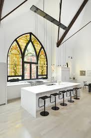 Amazing Church With Yellow Mosaic Window Decor Transformed Into ...
