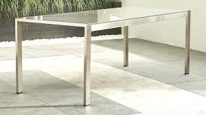 glass table desk glass trestle table desk