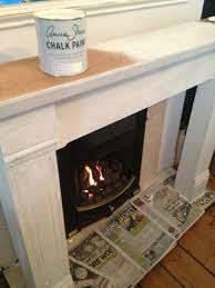 junk vibes paint pine fire surround gets a lick of