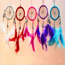 Dream Catchers For Your Car Indian Style Feather Dreamcatcher Car or Wall Hanging Decoration 100