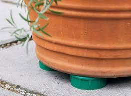 upcycled pot feet garden gate