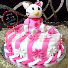 Gurugram Special Hello Kitty Designer Cake Delivery In Gurugram