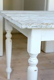 Whitewash Furniture Diy How To White Wash Stain And Seal A Butcher