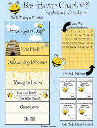 Bee Behaviour Chart Johnson Creations New Behavior Charts Reward Charts