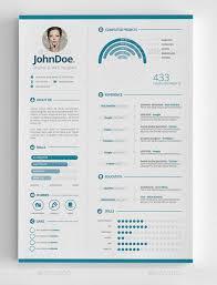 30 Infographic Resume Templates Download Free Premium