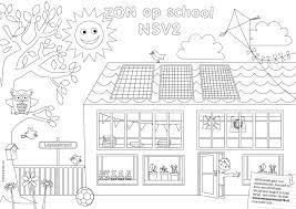 Oproep Mooie Zon Op School Kleurplaten Gezocht Zon Op School Nsv2