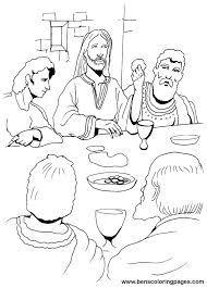 Small Picture Awesome Last Supper Coloring Page 62 With Additional Free Coloring