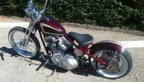 for sale iron head sportster bobber malibu motorcycle works