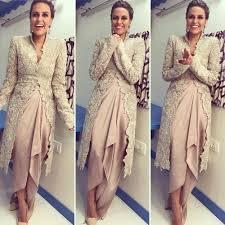 Clothing Design Ideas neha dhupia in anamika khanna