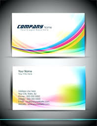 Photoshop Business Card Template Blank Busniess Card Template Free Clean And Creative Individual Business