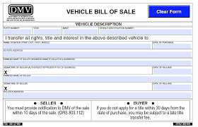 Dmv Bill Of Sale Or Dmv Bill Of Sale Cityesporaco 13