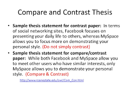 compare and contrast paper ppt video online compare and contrast thesis