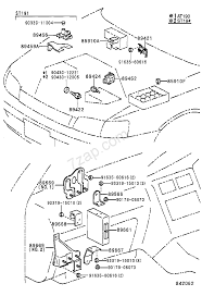 Electronic fuel injection system toyota corona sed lb at190 st191 ct190 asia and middle east