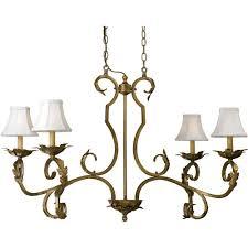 af lighting 6735 4 light gold chandelier