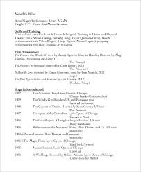 classical singer resume resume ideas