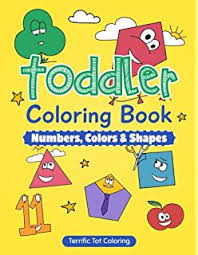 coloring books for toddlers. Interesting Toddlers Toddler Coloring Book Numbers Colors Shapes Preschool Prep Activity Book  For Kids Ages In Books For Toddlers O
