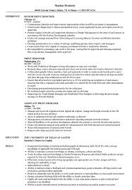 Print Designer Resume Samples | Velvet Jobs