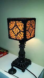 red stone lamp bit lamp display how to make